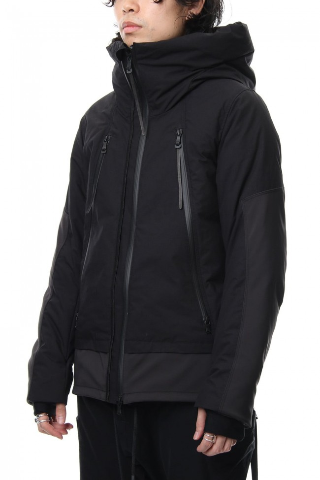 High Density Cotton Nylon Weather Down Jacket RBE-005