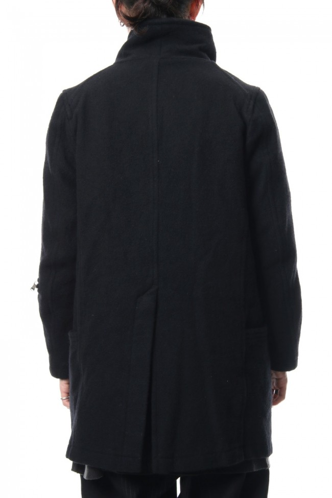 Soft melton coat