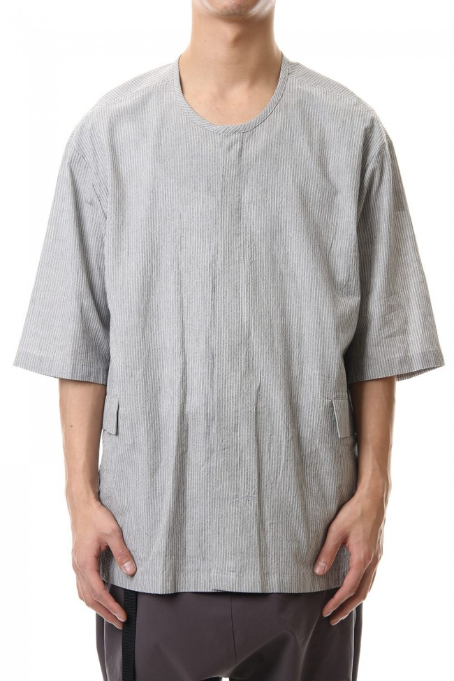Salt shrinkage Short sleeve shirt