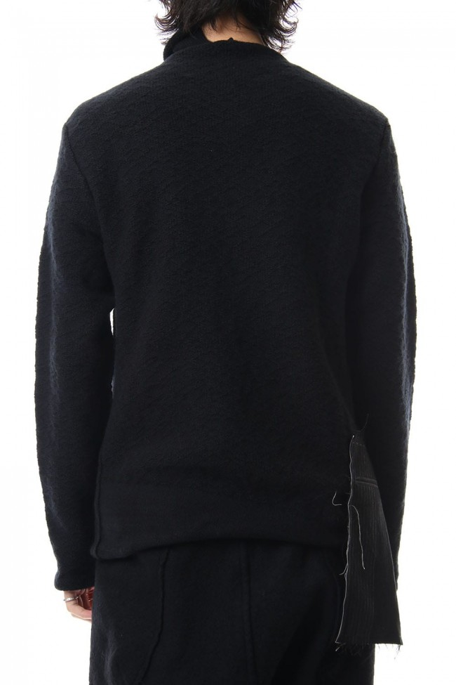 DANIEL ANDRESEN collaboration Pullover knit - Black