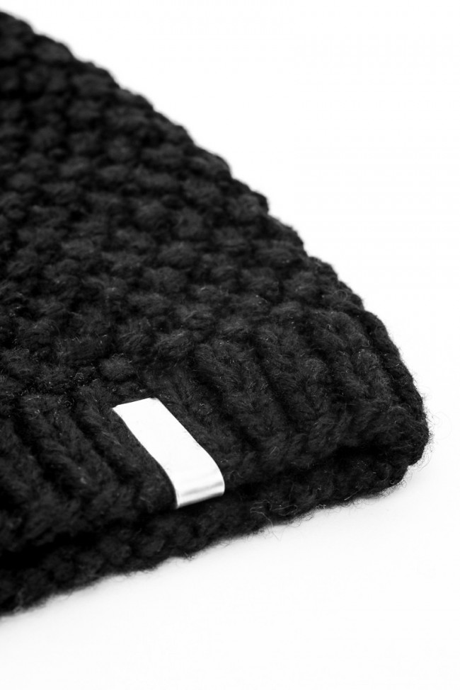 Honeycomb Knit Cap - Plain Clip