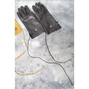 16AW LAMB LEATHER GLOVE-BLACK-FREE