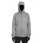 ZIP UP VACUUM NECK PARKA T.GRAY-T.Gray-1