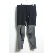 SURVIVAL LAYERED PANTS - BLACK x CHARCOAL-Black × Charcoal-1
