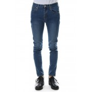 "E denim skinny pants ""WILLIAM""-Indigo-28"