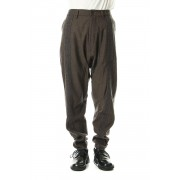 Line Tapered pants-Brown-46