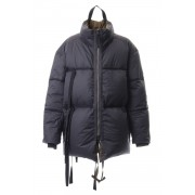 Over Sized Down Jacket-Black-46