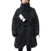 Down coat-Black-1