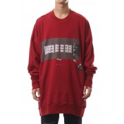 D.M.M. EXTRA BIG SWEATSHIRT Red-Red-1