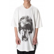 Jesse Draxler Print Round T Shirt ver.1 OFF-Off-1