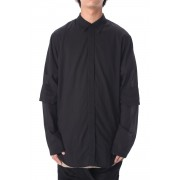 OPEN ELBOW SHIRT-Black-1