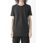 Short Sleeve Indian Cotton Jersey (SUVIN)-Charcoal-1