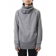 COVERED NECK L/S T.GRAY-T.Gray-1