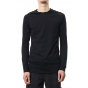 Long sleeve Indian cotton jersey ( SUVIN ) - Black-Black-1