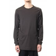 Long sleeve Indian cotton jersey ( SUVIN ) - Grape Gray-Grape Gray-1