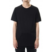 Short sleeve indian cotton jersey (SUVIN)-Black-1