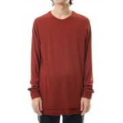 Long sleeve indian cotton jersey (SUVIN)-Red-1