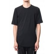 Short sleeve Cotton stretch jersey Loose fit - Black-Black-1