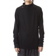Washable Wool Jersey - CT66-MJ21 Black-Black-0