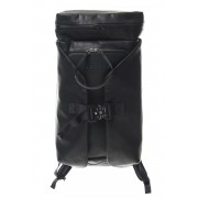 Backpack Calf leather - Guidi Leather-Black-Free