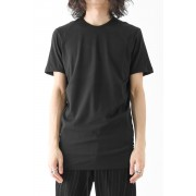 Short Sleeve Cut Sew 80/2 Cotton Jersey-Charcoal-1