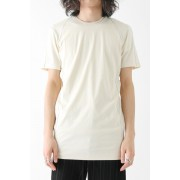Short Sleeve Cut Sew 80/2 Cotton Jersey-Ecru-1