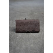 所作 -shosa- Limited Long Wallet Fur Seal BROWN