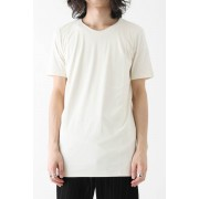 Short Sleeve Indian Cotton Jersey (SUVIN)-Ecru-1