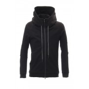 Hooded Jacket Cotton Jersey - Charcoal-Charcoal-1