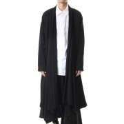 Drape Cardigan-Black-3