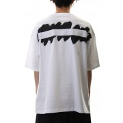 Painted Big T-Shirt typ.A White-White-4