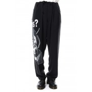 HV-P50-205 Black Scandal Draw String Pants-Black-1
