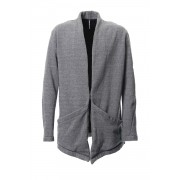Bomber Heat Cardigan RB-039 T.Gray-T.Gray-3