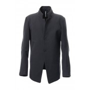 Dobby Pin Head Draping jacket RB-023 CB.Black-CB Black-3