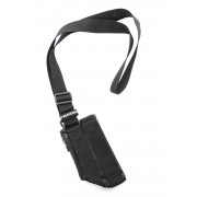 Calf Leather Tactical Neck Wallet RB-031-Black-Free