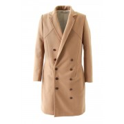 Trench Coat-Light Brown-44
