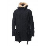 RVW collaboration military coat-Black-1