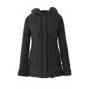 Padded Coat - ag-0691-1-Black-36