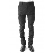Fascinate special edition Semi curve trousers Black-Black-1