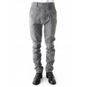 Semi curve trousers Gray-Gray-1