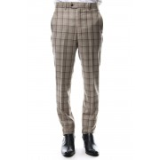 TAILORED LINE SIGNATURE TROUSERS-Brown / Beige-44
