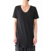 SHORT SLEEVE TEE - The R Limited --BLACK-FREE