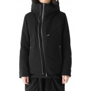 Tropical Wool  Down Jacket -Black-1