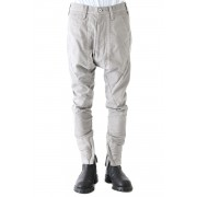 SEAMED FRONT CROTCH PANTS-Gray-1