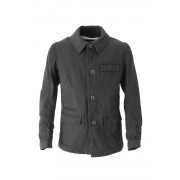 Jacket JK57 Washi Cotton Hard Twill -Black-0