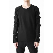 Wool Jersey Cut&Sewn-Black-0