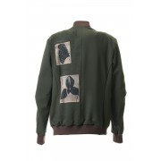 4 Way Stretch Wool Blouson-Khaki-3