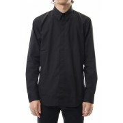 BROADCLOTH BUTTON DOWN SHIRT Black-Black-42