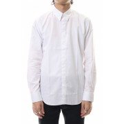 BROADCLOTH BUTTON DOWN SHIRT White-White-42