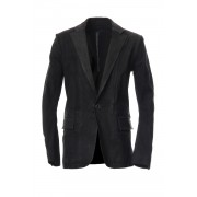Calf Stretch Tailored Jacket PIONNIER-Black-S